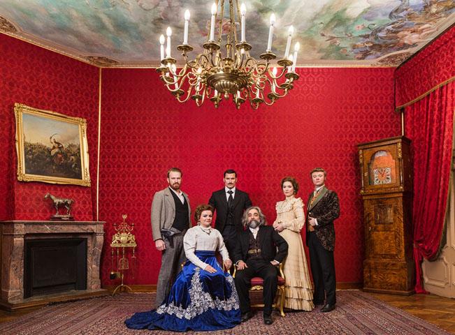 Postavy seriálu 1890. Fotografii poskytla FTV Prima
