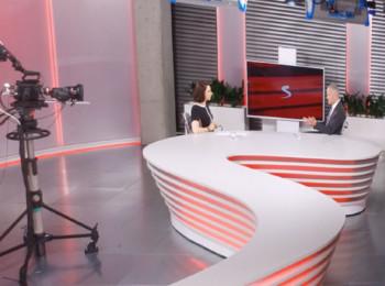 Studio televize Seznam.cz TV. Foto: Seznam.cz