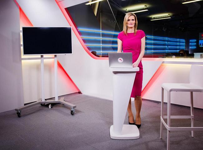Zuzana Hodková ve studiu, autor: Televize Seznam