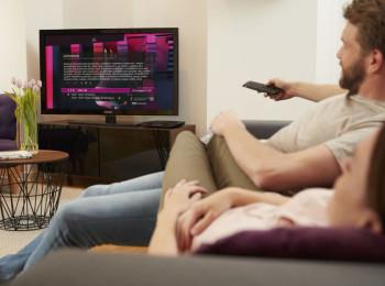 Prezentační fotografii k produktu T-Mobile SAT TV poskytla společnost T-Mobile Czech Republic. Editorial use only in direct correlation with Deutsche Telekom AG