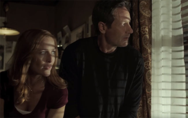Screenshot z traileru 11. série The X-Files / Akta X