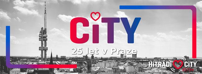 Promografika k 25. výročí Hitrádia City