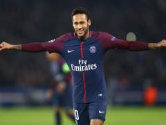 Nejdražší fotbalový hráč planety Neymar v dresu PSG. Fotografii poskytla společnost O2 Czech Republic