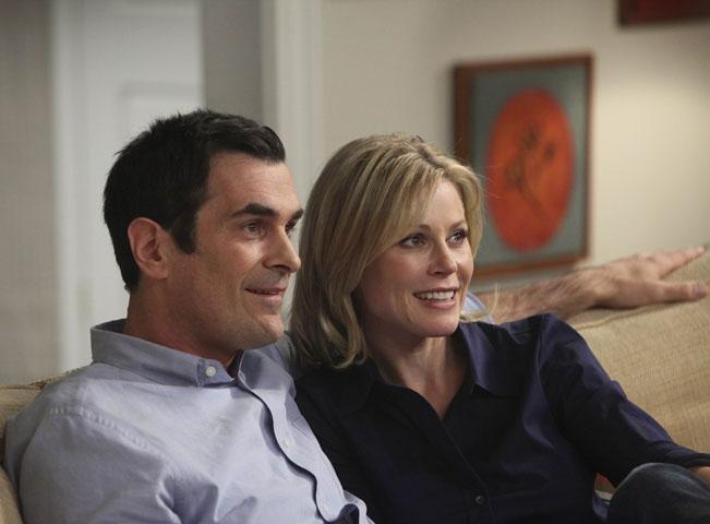 Momentka ze seriálu Taková moderní rodinka. Fotografii poskytla Prima Comedy Central / Viacom International Media Networks