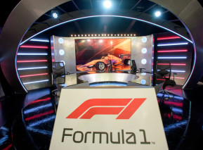 Značka Formule 1 má po 23 letech nové logo. Fotografii poskytla skupina AMC Networks International Central and Northern Europe