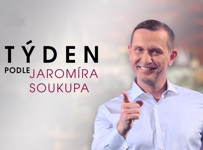 Jaromír Soukup v novém pořadu televize Barrandov - Týden podle Jaromíra Soukupa