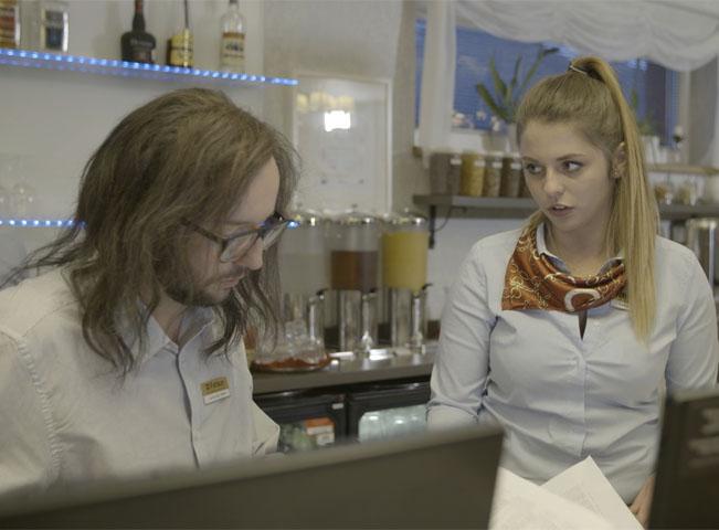 Záběr z prvního dílu pořadu Utajený šéf. Foto: archiv TV Nova