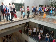 Den otevřených dveří v Českém rozhlase v sobotu 19. května 2018. Foto: Andrea Filičková pro Český rozhlas