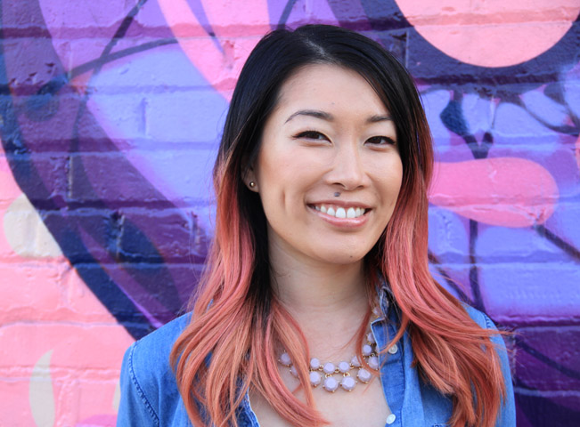 Lynn Wang, producentka seriálu Unikitty. Fotografii poskytlo české zastoupení Cartoon Network
