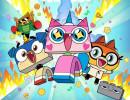 Hlavní postavy seriálu Unikitty. Zdroj: Cartoon Network (české zastoupení)