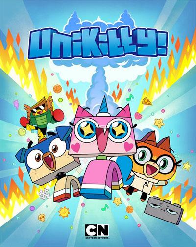 Plakát k seriálu Unikitty. Zdroj: Cartoon Network