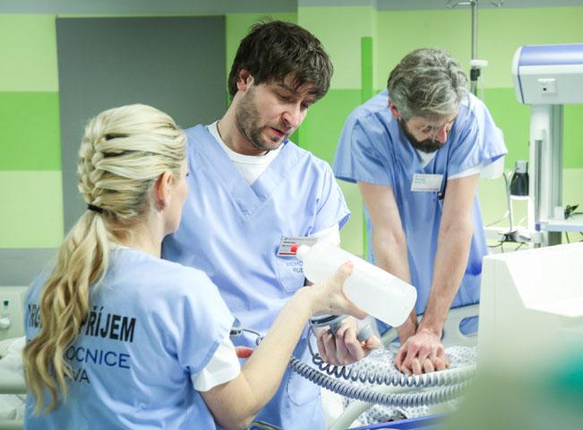 Momentka ze seriálu Modrý kód. Zdroj: FTV Prima