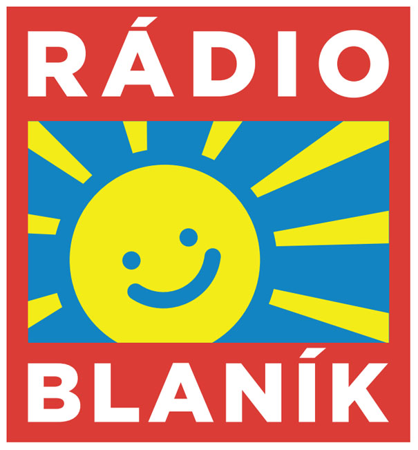 Nová úprava loga Rádia BLANÍK v podání agentury Cream Prague