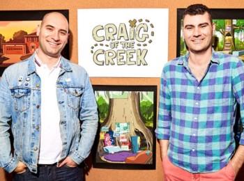 Tvůrci seriálu Craig od potoka (Craig of the Creek). Ben Levin (vlevo) a Matt Burnett. Za fotografii děkujeme Cartoon Network
