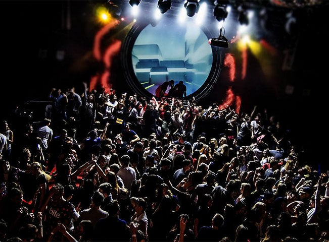 Pohled na párty v olomockém S-klubu. Ilustrační foto, zdroj: S-klub.cz
