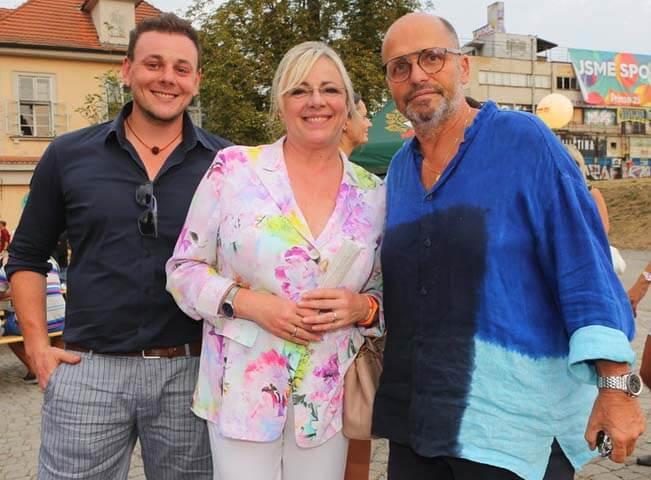Jitka Pagana, Santo Pagana a Zdeněk Pohlreich. Foto poskytla FTV Prima