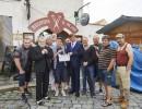 Herci a štáb nového komediálního seriálu Kameňák. Foto: archiv TV Nova