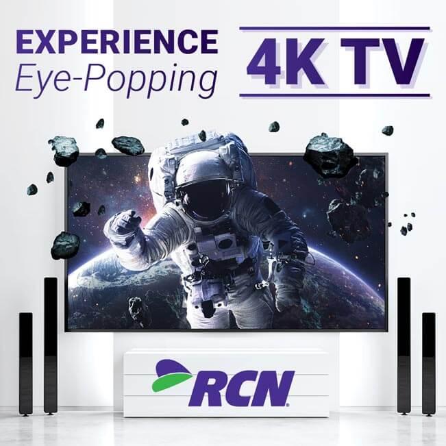 Testovací vizuál před spuštěním Ultra HD paketu od RCN