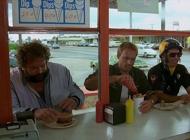 Terence Hill s Budem Spencerem. Fotografii poskytla společnost AMC Networks Central and Northern Europe