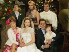 Rodinná fotografie ze sitcomu My family. Foto poskytla skupina Viacom International Media Networks