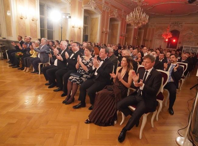 Fotografie ze slavnostního vyhlášení Prix Bohemia 2019 vArcibiskupském paláci vOlomouci ve čtvrtek 4. dubna 2019