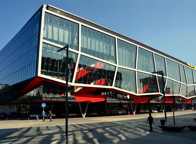 Zimní stadion Ondřeje Nepely v Bratislavě