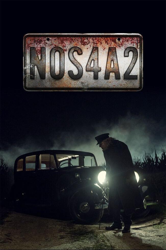 Prezentační plakát k seriálu NOS4A2