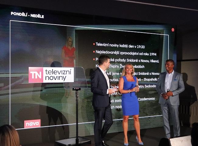 Lucie a Rey společně moderují Televizní noviny přes 20 let, autor: Martin Petera