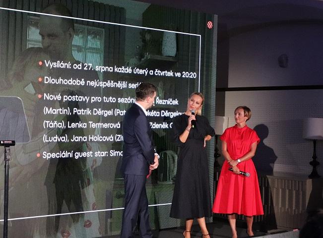 """Simona Krajnová jako """"guest star"""" v Ordinaci v růžové zahradě, autor: Martin Petera"""