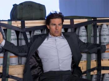 Tom Cruise ve filmu Mission Impossible - Národ grázlů. Fotografii poskytla agentura zastupující značku FilmBox na českém a slovenském trhu
