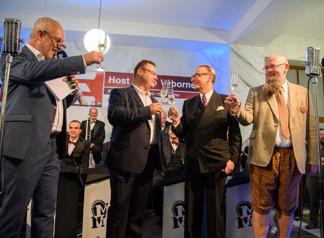 Slavnostní otevření kavárny Radiocafé Vinohradská 12. Foto: Khalil Baalbaki pro Český rozhlas