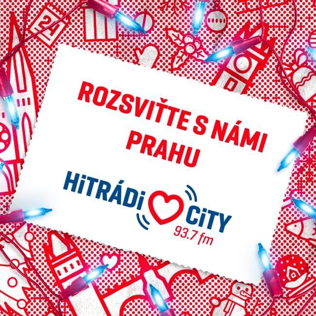 Pravidelná charitativní akce Hitrádia CITY s názvem Rozsviťte s námi Prahu