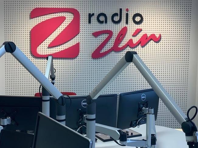 Detail studia Rádia Zlín