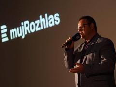 Generální ředitel Českého rozhlasu René Zavoral představuje projekt mujRozhlas. Foto: Jiří Šeda pro Český rozhlas
