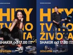 Agáta Hanychová a Tomáš Zástěra v pořadu SHAKER televize ÓČKO STAR. Zdroj foto: Mafra