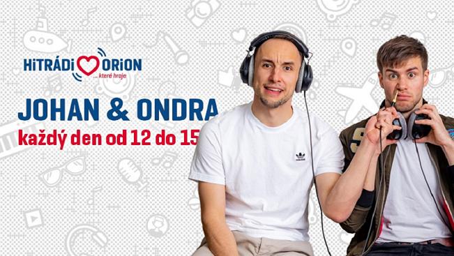 Johan a Ondra – polední show na Hitrádiu