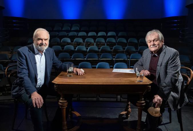 Koronapárty - Minišou Karla Šípa, pořad natáčený Českou televizí dne 2. 3. 2021 v divadle Semafor v Praze 6.