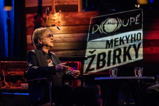Doupě Mekyho Žbirky v Hudebním klubu Doupě, Nad Hradním potokem 2/35, 7.7.2020